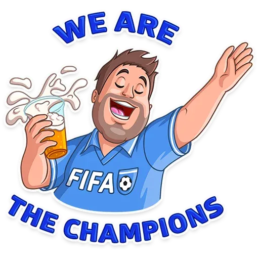 Football Fan - Sticker 14
