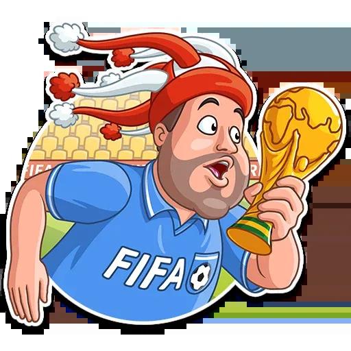 Football Fan - Sticker 26