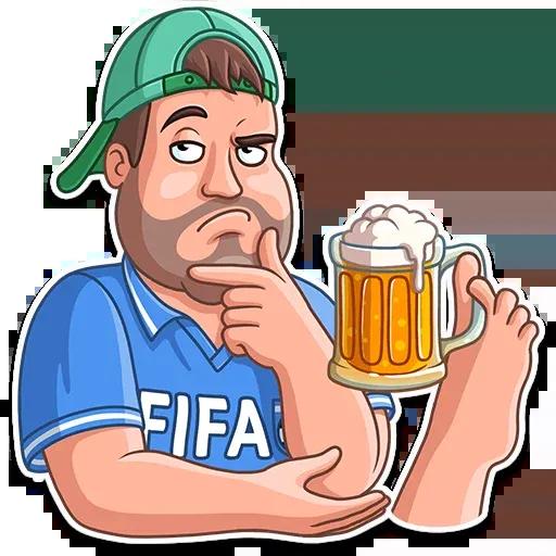 Football Fan - Sticker 11