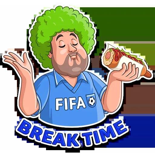 Football Fan - Sticker 9