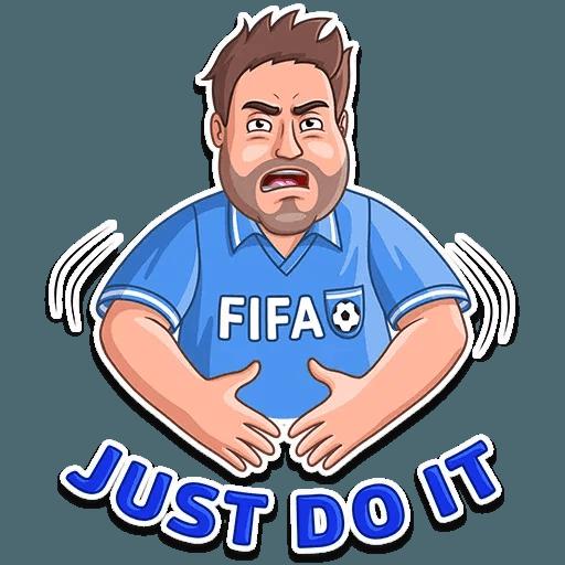 Football Fan - Sticker 23