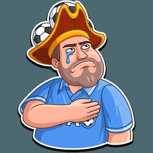 Football Fan - Sticker 25