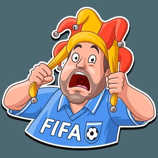 Football Fan - Sticker 3