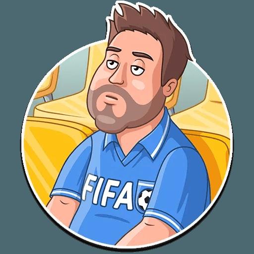 Football Fan - Sticker 24