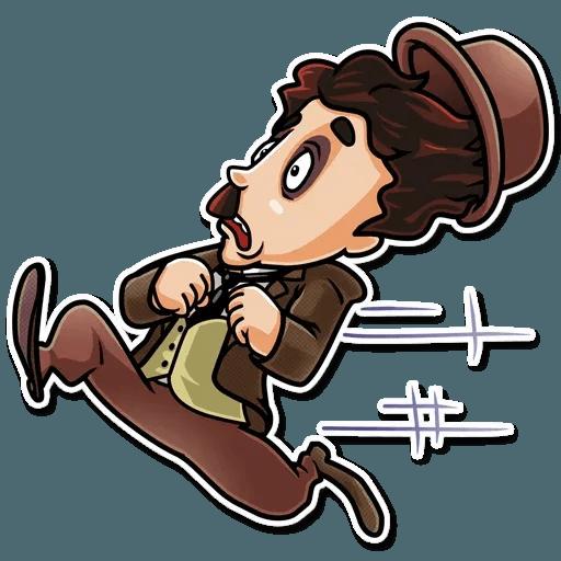 Charlie Chaplin - Sticker 30