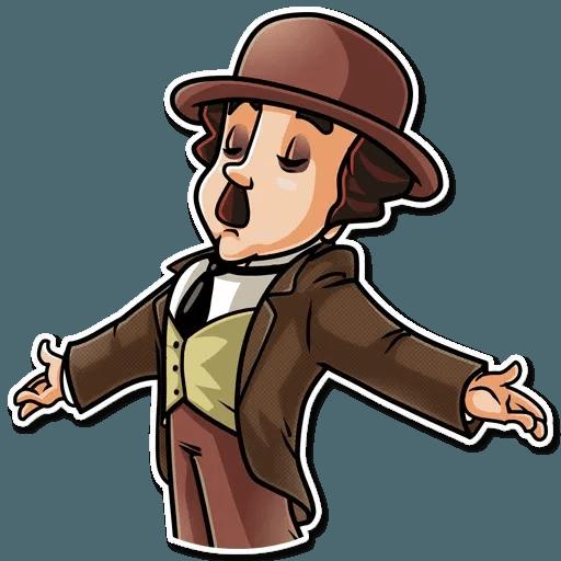 Charlie Chaplin - Sticker 4