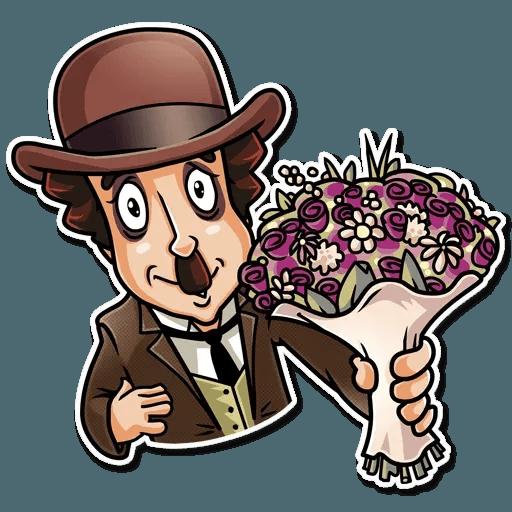 Charlie Chaplin - Sticker 16