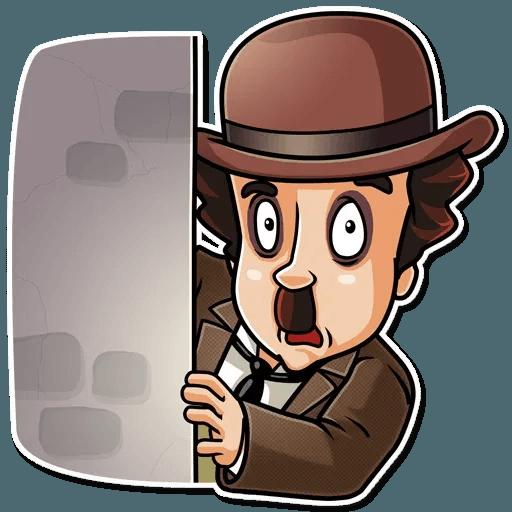 Charlie Chaplin - Sticker 7