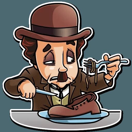 Charlie Chaplin - Sticker 10