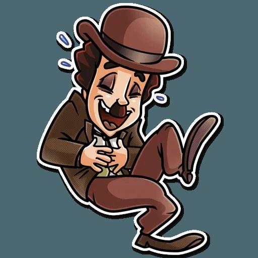 Charlie Chaplin - Sticker 25