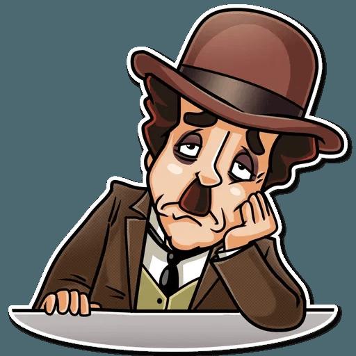 Charlie Chaplin - Sticker 26