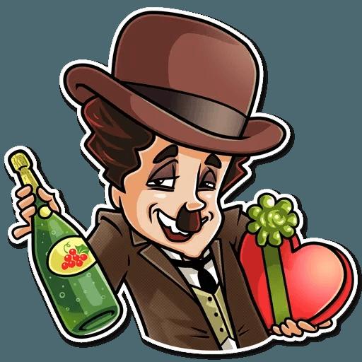 Charlie Chaplin - Sticker 13