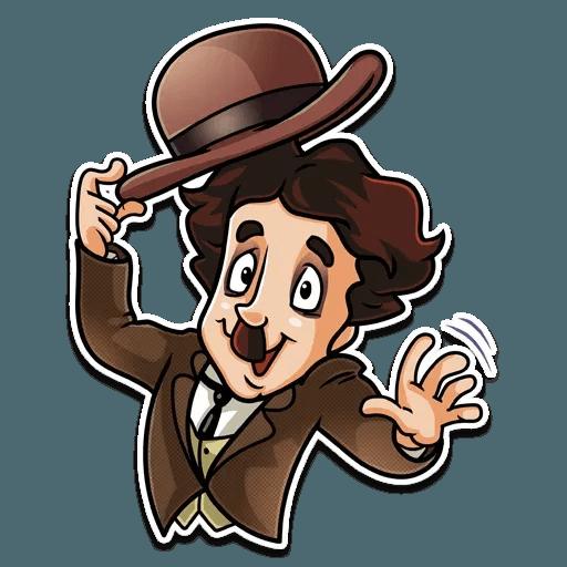 Charlie Chaplin - Sticker 27