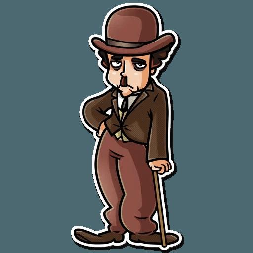 Charlie Chaplin - Sticker 22