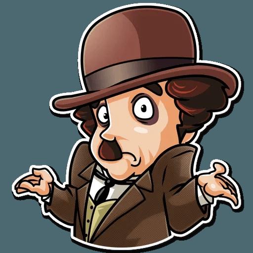 Charlie Chaplin - Sticker 28