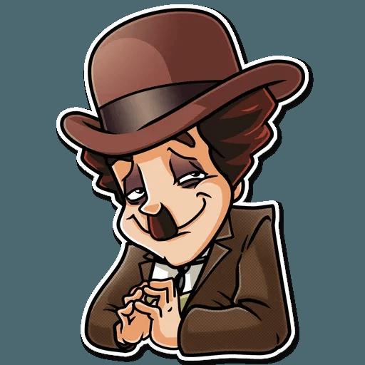 Charlie Chaplin - Sticker 5