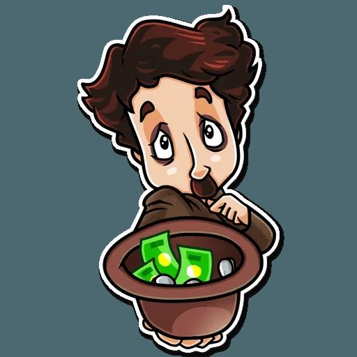 Charlie Chaplin - Sticker 9