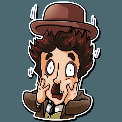Charlie Chaplin - Sticker 20