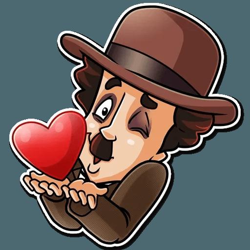 Charlie Chaplin - Sticker 3