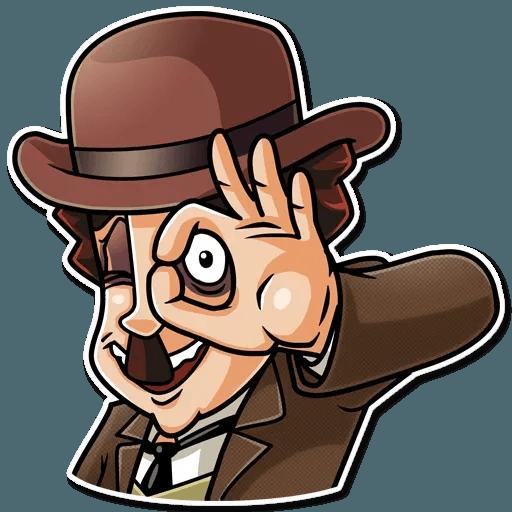 Charlie Chaplin - Sticker 8