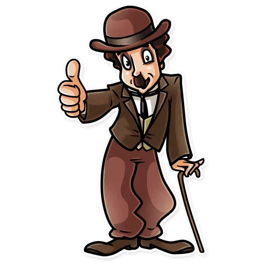 Charlie Chaplin - Sticker 6