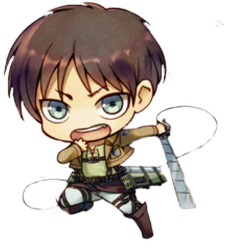 AOT Chibi 1 - Sticker 4