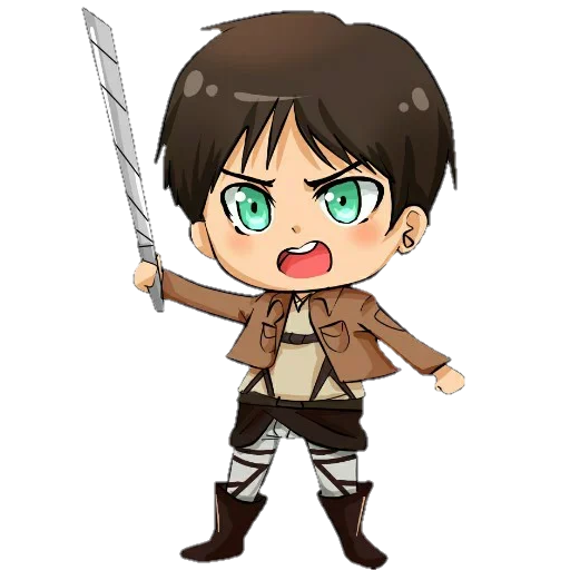AOT Chibi 1 - Sticker 5