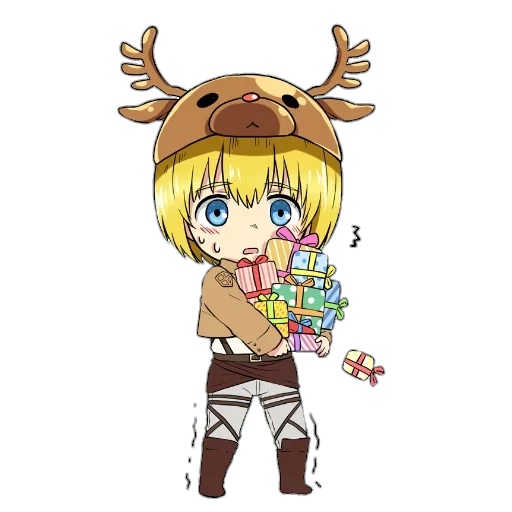 AOT Chibi 1 - Sticker 17
