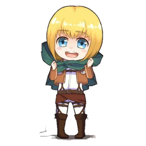 AOT Chibi 1 - Sticker 23