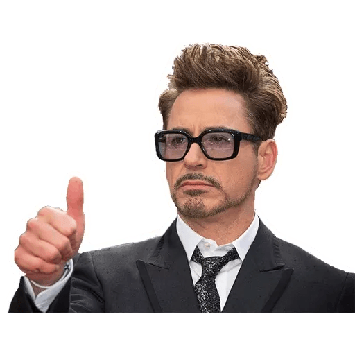 Robert Downey Jr - Sticker 1