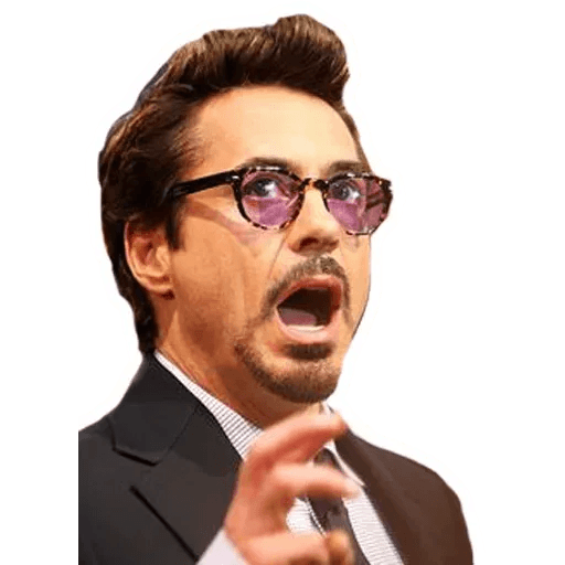 Robert Downey Jr - Sticker 15