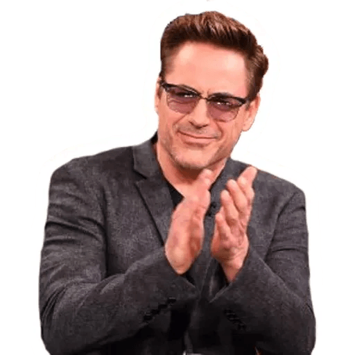Robert Downey Jr - Sticker 17