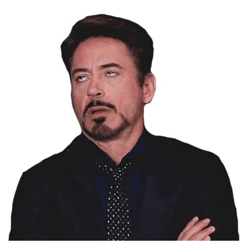 Robert Downey Jr - Sticker 3