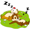 Chip n Dale 1 - Tray Sticker