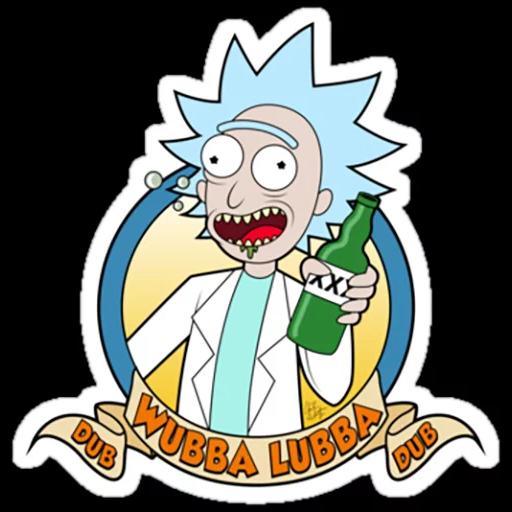 Rick & Morty 2 - Sticker 25