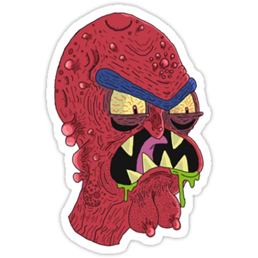 Rick & Morty 2 - Sticker 22