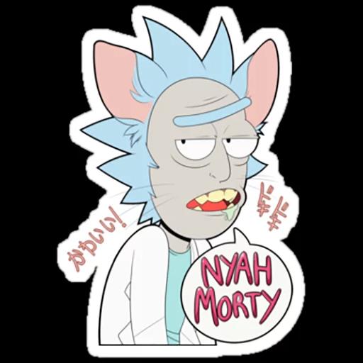 Rick & Morty 2 - Sticker 13
