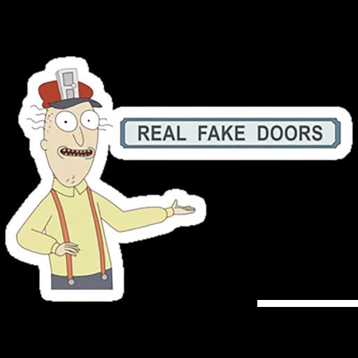 Rick & Morty 2 - Sticker 5