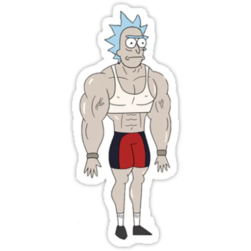Rick & Morty 2 - Sticker 9