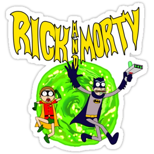 Rick & Morty 2 - Sticker 3