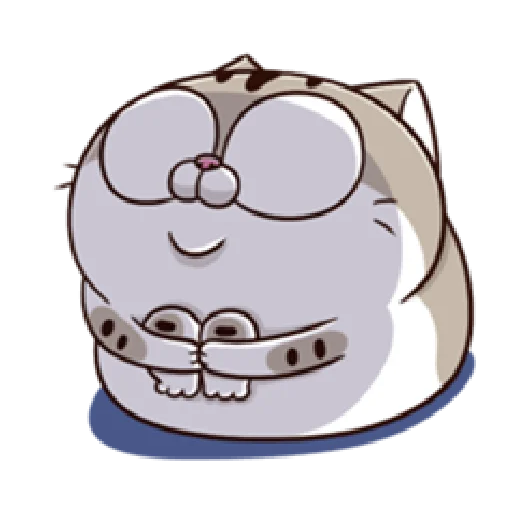 Ami fat cat7 - Sticker 20