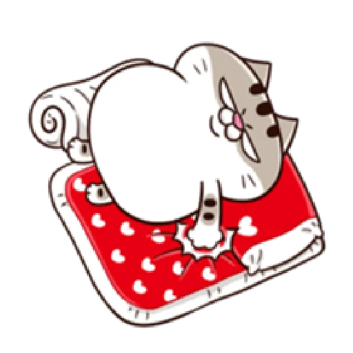 Ami fat cat7 - Sticker 22