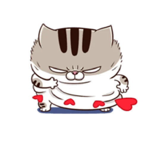 Ami fat cat7 - Sticker 1