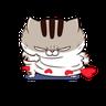 Ami fat cat7 - Tray Sticker