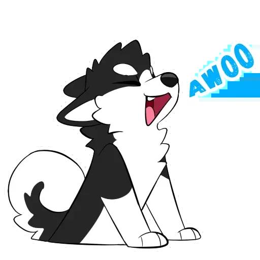 Furry UwU - Sticker 1