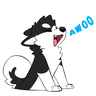 Furry UwU - Tray Sticker