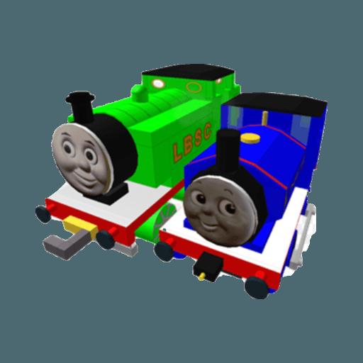 Roblox Thomas  - Tray Sticker