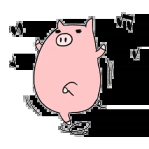 小豬 - Sticker 13