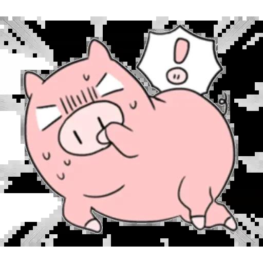 小豬 - Sticker 14