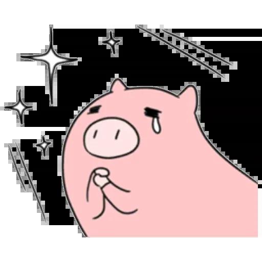 小豬 - Sticker 11